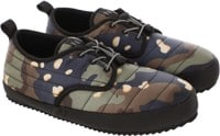 Holden Puffy Slipper Shoe - navy choclate chip camo