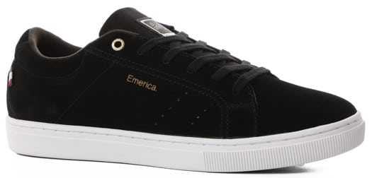 Emerica Romero Americana Skate Shoes - black/white/gold - view large