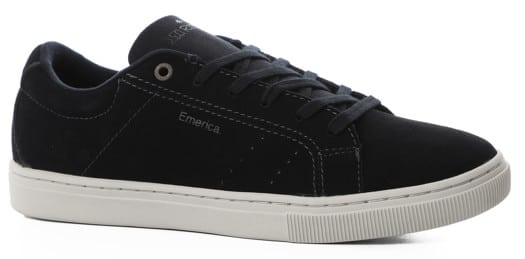 Emerica Romero Americana Skate Shoes - navy/grey - view large