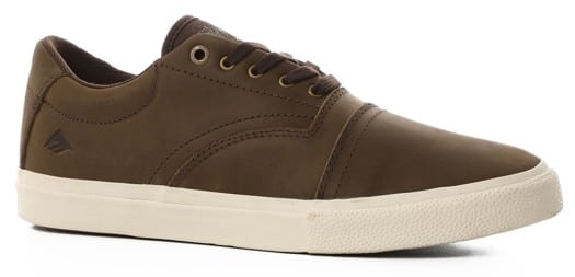Emerica The Provider G6 Plus Skate Shoes - brown/white - view large