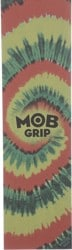 MOB GRIP Tie Dye Graphic Skateboard Grip Tape - rasta
