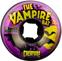 OJ Creature Bloodsuckers Skateboard Wheels - vampire bat black/purple swirl (97a)