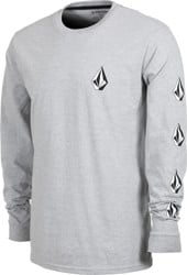 Volcom Deadly Stones L/S T-Shirt - grey