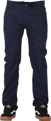 Footprint Relaxed Fit 5 Pocket Chino Pants - navy - view large