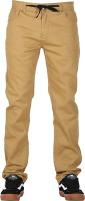 Footprint Relaxed Fit 5 Pocket Chino Pants - tan - view large