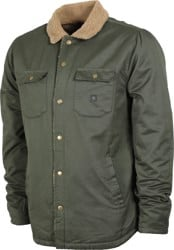 Roark Hebrides Sherpa Lined Jacket - military