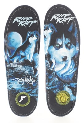 Footprint Gamechangers Custom Orthotics 6mm Insoles - riff raff jody husky - view large