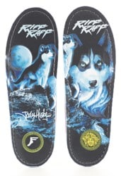 Footprint Gamechangers Custom Orthotics 6mm Insoles - riff raff jody husky