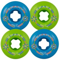 Ricta Sparx Skateboard Wheels - green/blue mix up (99a)