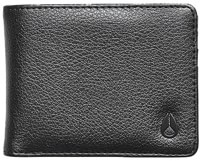 Nixon Cape Vegan Leather Wallet - black