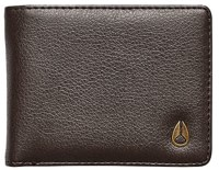 Nixon Cape Vegan Leather Wallet - brown