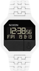 Nixon Re-Run Watch - all white