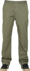 Nike SB Dry Pull On Chino Pants - medium olive