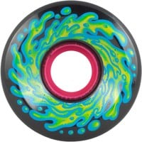 Santa Cruz Slime Balls Skateboard Wheels - black/blue (78a)