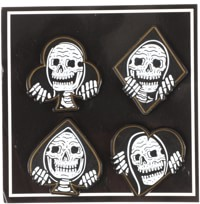 Lurking Class Suits Lapel Pin Set - black