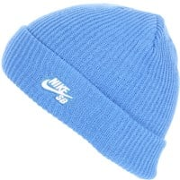 Nike SB Fisherman Beanie - pacific blue/white