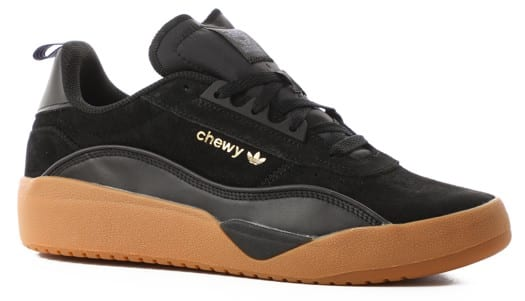Adidas Liberty Cup Skate Shoes - (chewy cannon) core black/gold metallic/gum 2 - view large