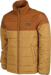Brixton Cass Puffer Jacket - copper/washed copper