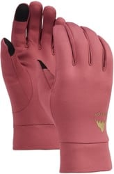 Burton Screen Grab Liner Gloves - rose brown