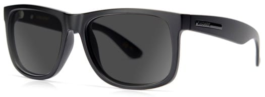 MADSON Vincent Polarized Sunglasses - black on black/grey polarized lens - view large