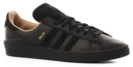 Adidas Campus ADV Skate Shoes - (silas baxter-neal) core black/core black/st pale nude - view large
