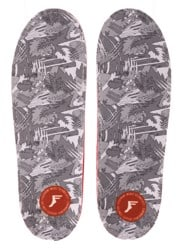 Footprint PU Gamechangers Lite Custom Orthotics 6mm Insoles - white camo