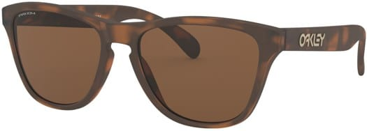 Oakley Frogskins XS Sunglasses - matte brown tortoise/prizm tungsten lens - view large