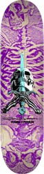 Powell Peralta Skull & Sword 9.05 246 Shape Skateboard Deck - purple