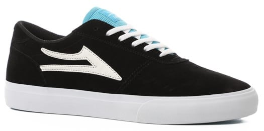 Lakai Manchester Skate Shoes - black suede - view large