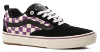 Vans Kyle Walker Pro Skate Shoes - (checkerboard) black/dewberry