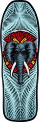 Powell Peralta Mike Vallely Elephant 10.0 Skateboard Deck - light blue