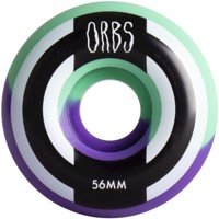 Orbs Apparitions Skateboard Wheels - mint/lavender split (99a)
