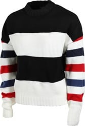 Brixton Women's Claudia Sweater - stripe