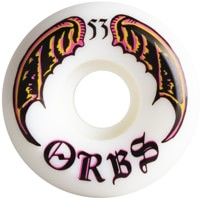 Orbs Specters Skateboard Wheels - white 53 (99a)