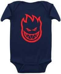 Spitfire Toddler Bighead Onesie - navy/red