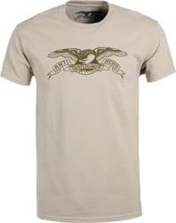 Anti-Hero Basic Eagle T-Shirt - sand/olive