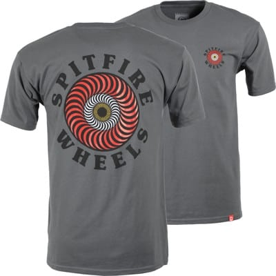 Spitfire OG Classic Fill T-Shirt - charcoal/multi-colored - view large