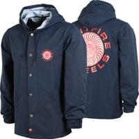 Spitfire Classic 87' Swirl Hooded Coach Jacket - navy/red/white
