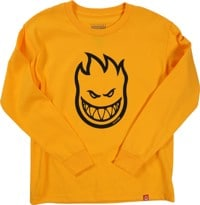 Spitfire Kids Bighead L/S T-Shirt - gold/black