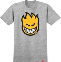 Spitfire Kids Bighead Fill T-Shirt - athletic heather/gold