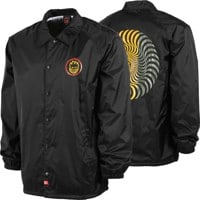 Spitfire Classic Swirl Coach Jacket - black/red/gold/olive