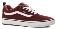 Vans Kyle Walker Pro Skate Shoes - (heavy canvas) port royale/redwood