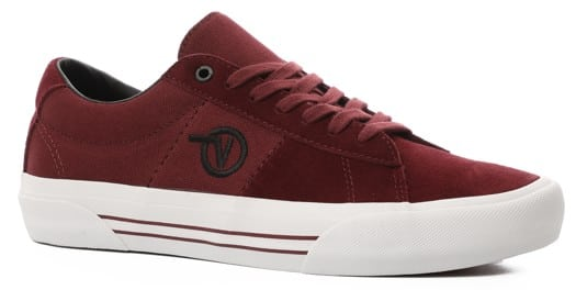 Vans Saddle Sid Pro Skate Shoes - port royal/true white - view large