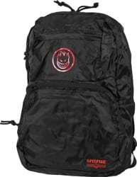 Spitfire Bighead Circle Packable Backpack - black/red