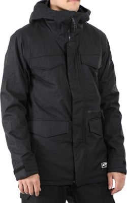 Burton Covert Insulated Jacket - true black - view large