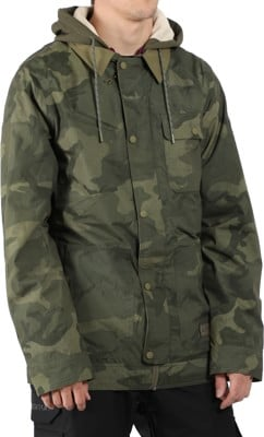 Burton Dunmore Insulated Jacket - worn camo - view large