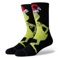 Stance Mr. Grinch Sock - black