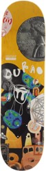 Numbers Edition Durao Edition Seven 8.38 Skateboard Deck - yellow
