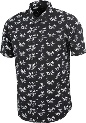 RVCA Easy Palms S/S Shirt - black - view large
