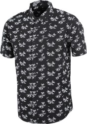 RVCA Easy Palms S/S Shirt - black